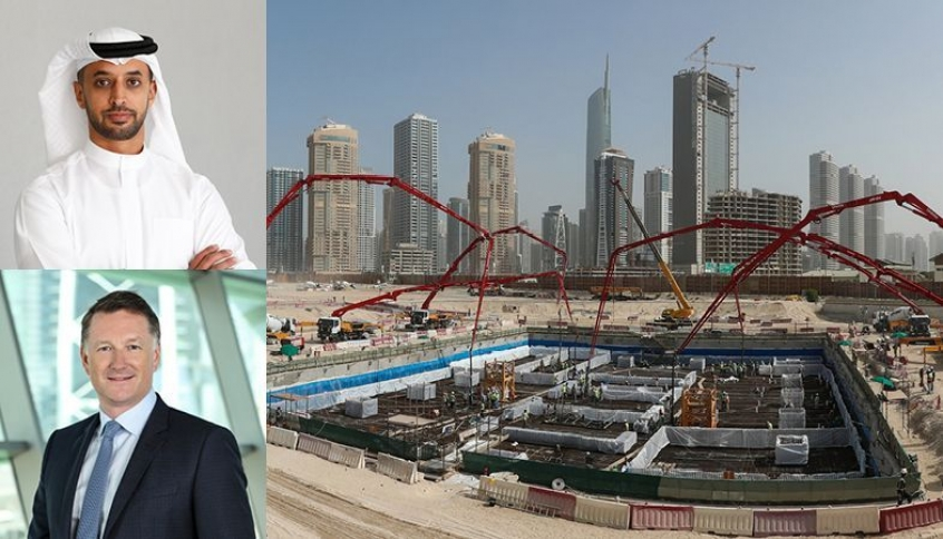 DMCC's Uptown Dubai Proceeds at Pace; Foundation Works Completed for First Super Tall Tower in Uptown Dubai District