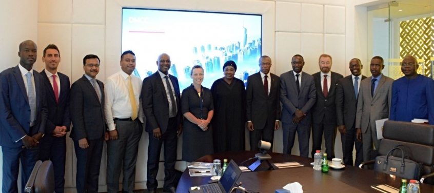 DMCC briefs Senegal's Economic Affairs Minister on Commercial Appeal of Dubai