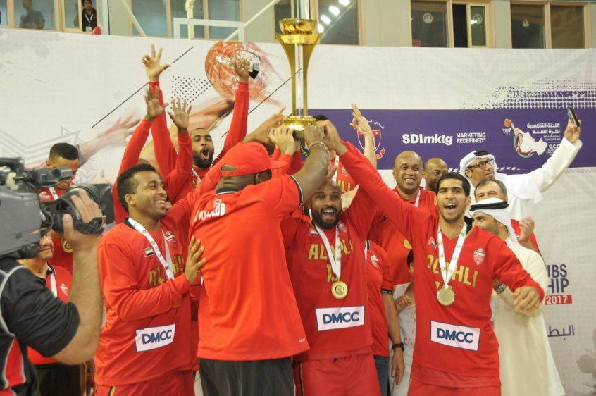 Dubai's Al Ahli Club Basketball Team Clinches Third Consecutive GCC Basketball Club Championship Title