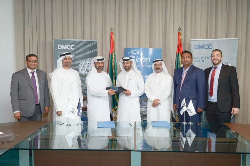 DMCC and Jafza Sign MoU