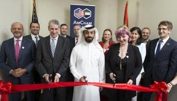 Die amerikanische Handelskammer in Dubai verlegt ihren Hauptsitz in den DMCC Almas Tower in JLT
