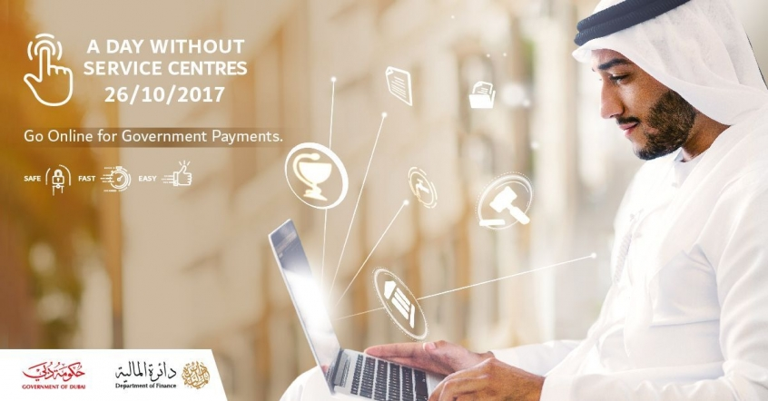A Day Without Payment Service Centres